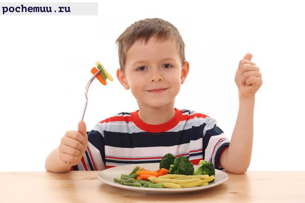 ребенок и его диета из за воды