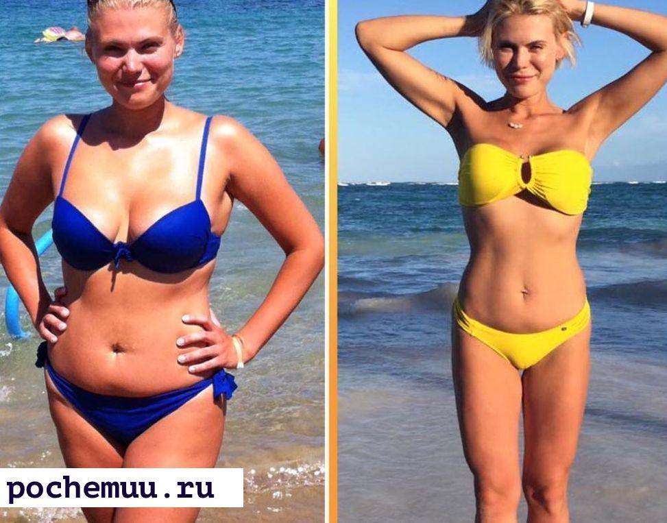 до и после похудение на перловой крупе