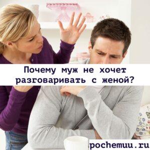 Read more about the article Почему муж не хочет разговаривать с женой? Основные причины