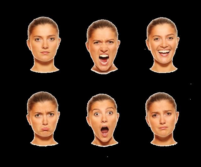 лица с эмоциями